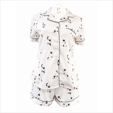 KITTY MEOW SOFT SILK SLEEPWEAR