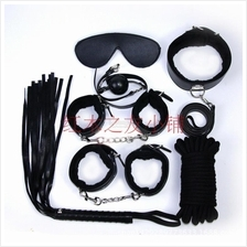 BLACK SM SET FOR BDSM