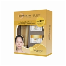 BIO-ESSENCE 24K Bio Gold CleanserDay Cream Night Cream
