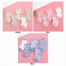 BBD 5 Pairs of 0-4 Years Old Cotton Baby Socks BB9963