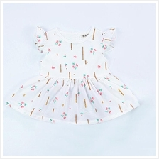 BBD Back Love Hollow Shape Baby Girl Dress BB990