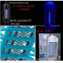 4 pcs Replacement UV Light Bulbs for Powerful Mosquito Killer: S & L