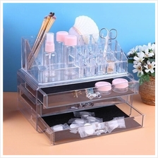 New Portable Clear Acrylic Makeup Organizer Storage Box Cosmetic