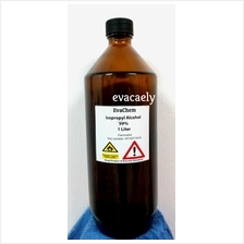 Isopropyl Alcohol (IPA) 99% in Amber Glass Bottle - 1L