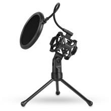PS - 2 Microphone Pop Filter with Desktop Stand