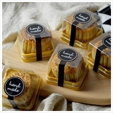 Dessert Mooncake Packaging Box Free Label (10sets/pkt)