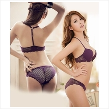 4f0e361d06 Charming Lace BeautyBack Push-Up Cup C Bra Set (Purple)