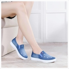 Korea Style Jean Comfortable Pump Shoes (Blue)