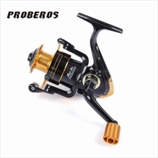 PROBEROS 12 BALL BEARINGS 5.2:1 METAL SPOOL SPINNING FISHING REEL (COLORMIX)