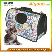 Oxford Pet Carrier Bag Carry Cat Kitten Dog Puppy Pets Carriers Purses Beds Ma