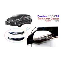 Perodua Myvi 2018 Side Mirror Garnish Chrome