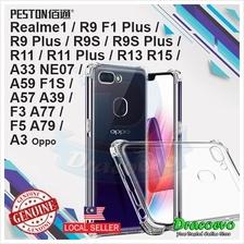 Peston Oppo A3 33 57 59 77 79 R9 R11 R13 R15 Realme Clear Bumper Case