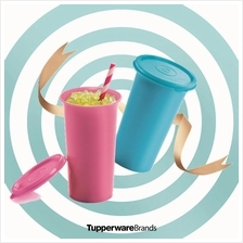 Tupperware Bell Tumbler (2) 310ml - Blue  & Pink