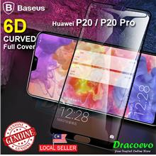 Baseus 6D Curved Huawei P20 Pro Full Cover Protector Tempered Glass
