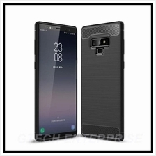 Samsung Galaxy Note 9 Carbon Shockproof TPU Back Cover Case