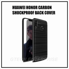 Huawei P20 Pro Honor Play Note 10 Carbon Shockproof Back Cover Case