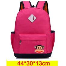 Cute Monkey Backpack (Rose Red)