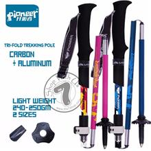 PIONEER Light Weight Tri-fold Trekking Pole