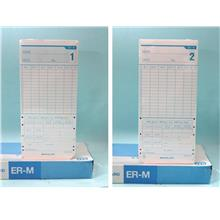 MAX Time Card ER-M Punch Card Paper 100pcs