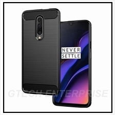 OnePlus 6 1+6 Carbon Shockproof TPU Back Cover Case