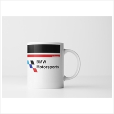 BMW Checkered Ceramic Mug