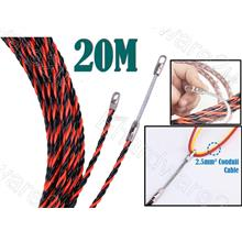 Polyester Fish Tape Wire Guider Cable Threading Puller 20M (TGS-2000)