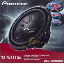 Pioneer TS-W311D4 12' Champion Series DVC Subwoofer 400W 4 ohm