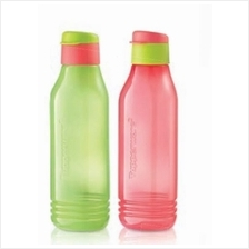 Tupperware Triangle Quencher Set (2 750ml - Green + Red