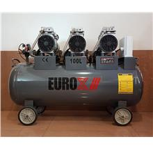 Eurox EAX-7180 2.2HP Silent & Oil-Less Air Compressor ID30560