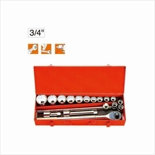 "MR.MARK MK-TOL-6617 3/4"" 17 PCS SOCKET WRENCHES SET"