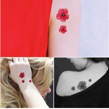 Fashion Art Tattoo Stickers (Sakura)