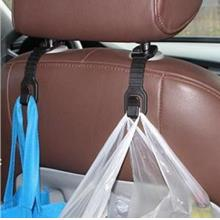 Car Use Multi-function Back Seat Black Hook (a pair)