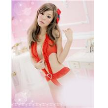 New Type Red Colour Sexy Suit One pcs 11431