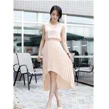 Fashion Plated Dress (Pink)