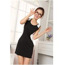 Youth Sleeveless Dress (Black)