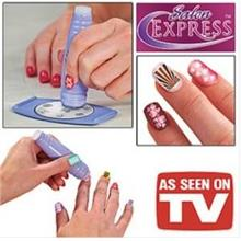 As Seen As On TV¡ Nail Art Stamping Kit 12226
