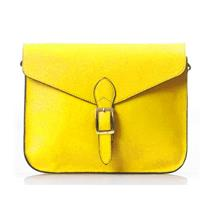 Elegant Pure Colour Single Shoulder Bag 15483 (Yellow)