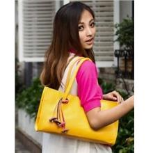 PU Leather Single Shoulder Bag 14216 (Yellow)