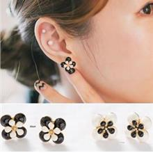 Lovely Double Flower Earrings