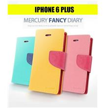 iPhone 6 Plus Mercury Fancy Diary Leather Case