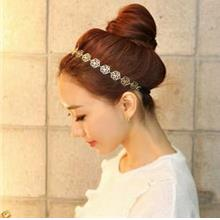 Korean Hollow Roses Hair Band