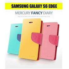 Samsung S6 Edge Mercury Fancy Diary Leather Case
