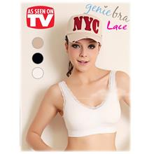 As Seen On TV~ Lace Genie Bra Seamless Bra with pads (3 pcs)