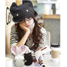 Fashion Rabbit Style Knitted Hat