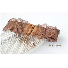 Lace-Side Tie Flexible Belt 14137