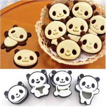 DIY Bakery Decorating Tool Cute Panda Cookie Mould Set