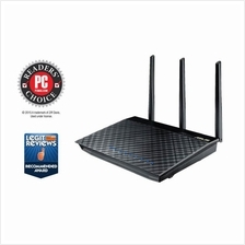 # ASUS RT-AC66U Dual-band 3x3 Wifi 4-port Gigabit Router # AC1750