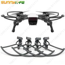 DJI Spark 2in1 Propeller Guards Foldable Landing Gear Legs kit Shield
