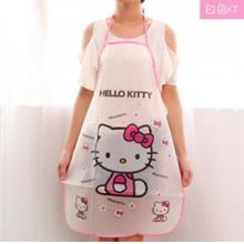 Korean Cute Cartoon Waterproof Apron (Many Style)