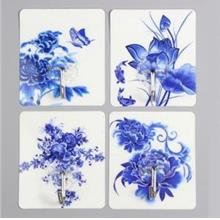 Cute Cartoon Strong Stickness Hook 4pcs (Flower)